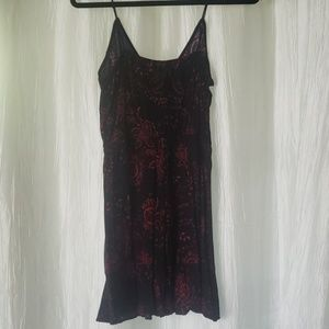 Express Dresses - Black and red causal Express dress